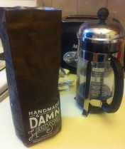 Handsome in my french press